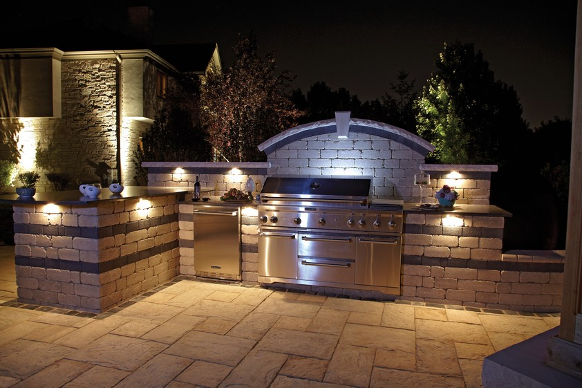 Here is an outdoor kitchen installed in Myrtle Beach by Outdoor Kreations