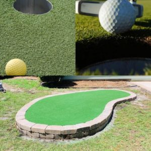 Outdoor Kreations installs putting greens in Myrtle Beach, SC.