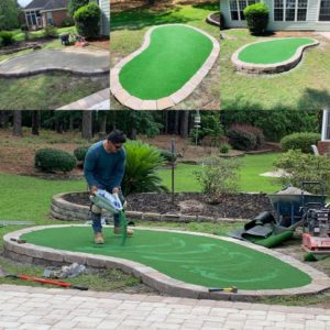 Check out these Myrtle Beach area putting greens by Outdoor Kreations