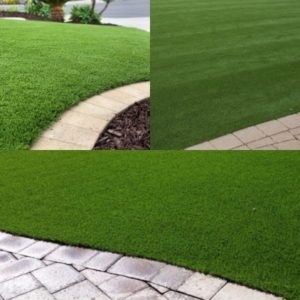 Synthetic turf is beautiful year round.